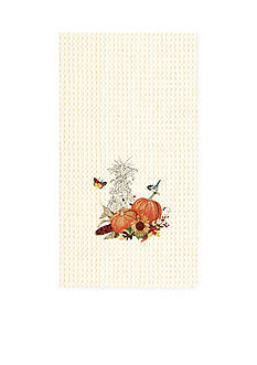 C&F Pumpkin Harvest Kitchen Towel