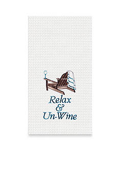C&F Relax and Un-Wine Kitchen Towel