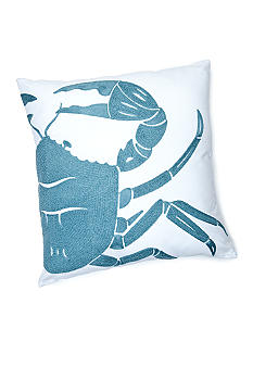 C&F Crab Rice Stitch Decorative Pillow