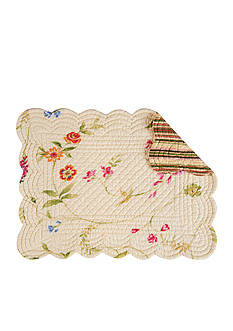 C&F Priscilla Yellow Placemat