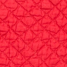 Table Linens and Placemats: Red C&F YLLW PM QLT SCALLOP