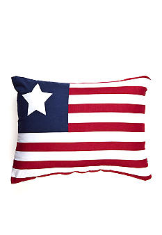 C&F Flag Decorative Pillow - Online Only