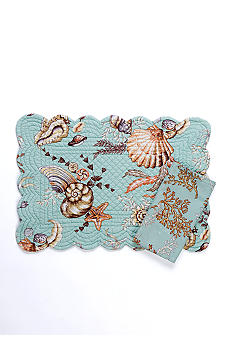 C&F Under the Sea Reversible Placemat and Napkin - Sold Separately