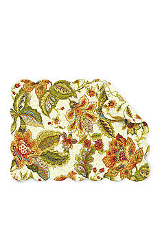 C&F Amelia Reversible Placemat and Napkin - Sold Separately