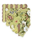 C&F Magnolia Reversible Placemat and Napkin - Sold Separately