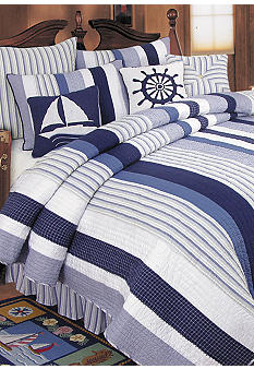 C&F Nantucket Dreams Quilt - Online Only