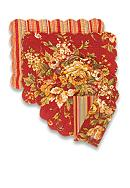 C&F Rossa Reversible Placemat and Napkin - Sold Separately