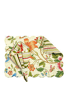 C&F Talia Placemat and Napkin - Online Only