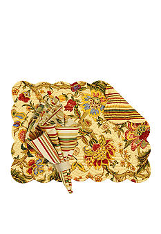 C&F Vivienne Placemat and Napkin - Online Only