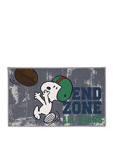 Nourison Snoopy™ End Zone Rug