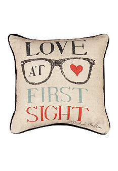 Manual Woodworkers Love at First Sight Decorative Pillow - Online Only