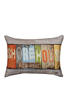 Manual Woodworkers Shorehouse Decorative Pillow - Online Only