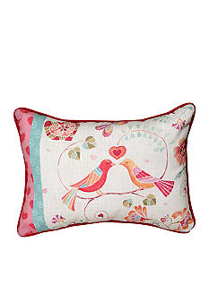Manual Woodworkers Love Birds Oblong Decorative Pillow - Online Only