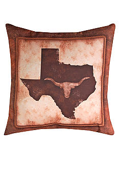 Manual Woodworkers Abilene Lone Star State Decorative Pillow
