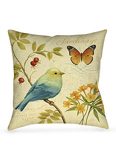 Manual Woodworkers Garden Passion I Decorative Pillow
