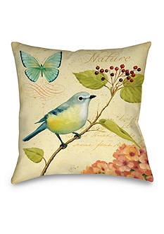 Manual Woodworkers Garden Passion III Decorative Pillow