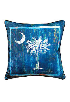 Manual Woodworkers South Carolina Decorative Pillow - Online Only