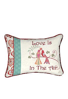 Manual Woodworkers Love is in the Air Decorative Pillow - Online Only