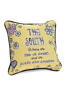 Manual Woodworkers Girls are Sweeter Decorative Pillow