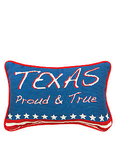 Manual Woodworkers Texas Proud & True Decorative Pillow