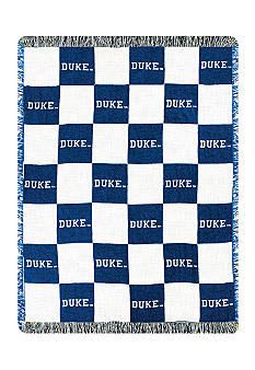 Manual Woodworkers Duke Blue Devils Throw