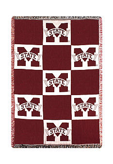 Manual Woodworkers Mississippi State Bulldogs Throw