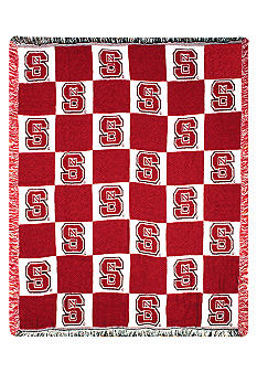 Manual Woodworkers NC State Wolfpack Throw