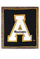 Appalachian State Mountaineers Tapestry Throw