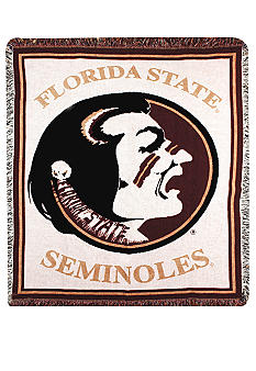Manual Woodworkers Florida State Seminoles Tapestry Throw