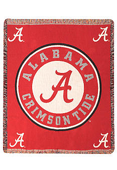 Manual Woodworkers Alabama Crimson Tide Tapestry Throw