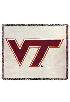 Virginia Tech Hokies Tapestry Throw