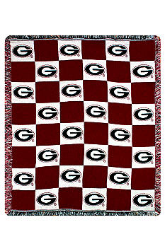 Manual Woodworkers Georgia Bulldogs Throw