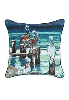 Manual Woodworkers Keeping Watch Decorative Pillow