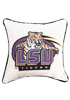 Manual Woodworkers LSU Tigers Tapestry Decorative Pillow