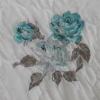 Laura Ashley Bed & Bath Sale: White Laura Ashley LA EVERLY STD SHAM