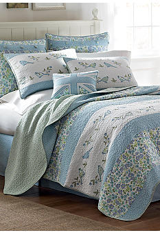Laura Ashley Birds & Branches Quilt - Online Only