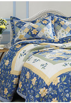 Laura Ashley Emilie Quilt Collection - Online Only