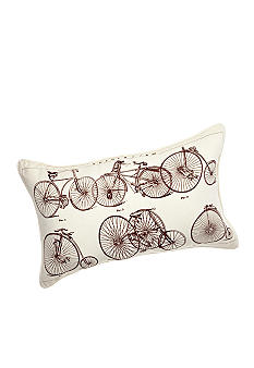 Newport Bicycles Decorative Pillow