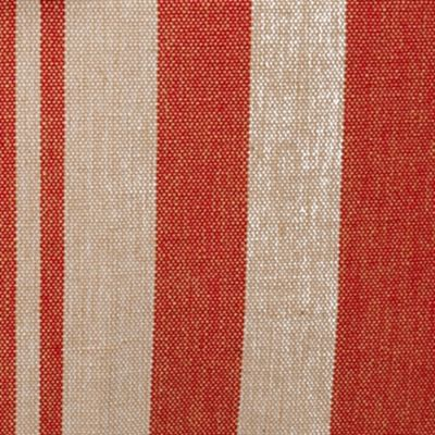 Home Goods Pillows: Red Newport BOATHOUSE STRIPE TEA