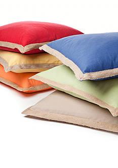 Newport Espadrille Decorative Pillow