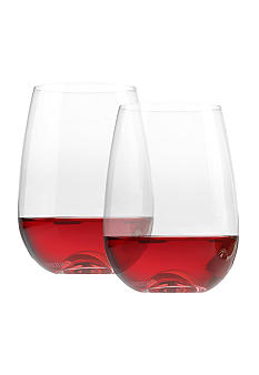 Oneida Aquarius Stemless Wine Glass 2-pack