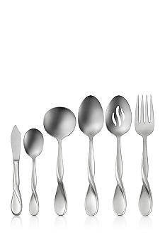Oneida Satin Aquarius 6 pc Hostess & Serve Set