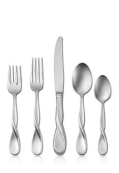 Oneida Satin Aquarius 20 Piece Stainless Flatware Set
