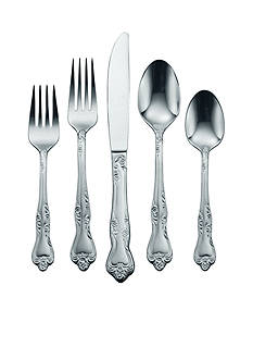 Oneida Azalea 45-Piece Flatware Set - Online Only