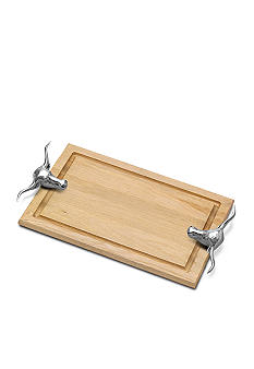 Wilton Armetale Texas Longhorn Cutting Board