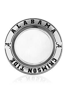 Wilton Armetale Alabama Crimson Tide Small Round Tray