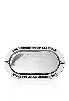 Wilton Armetale Alabama Crimson Tide Large Oval Tray