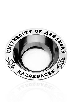 Wilton Armetale Arkansas Razorbacks Medium Round Bowl
