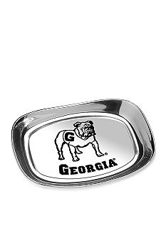 Wilton Armetale Georgia Bulldogs Bread Tray