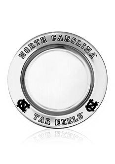 Wilton Armetale UNC Tar Heels Small Round Tray